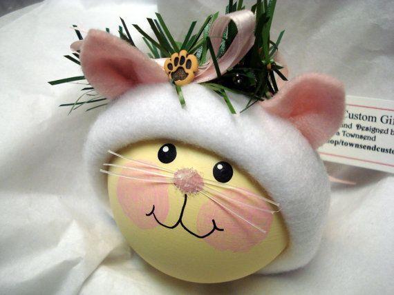 Cadeaux personnalisés de chaton ornement par TownsendCustomGifts