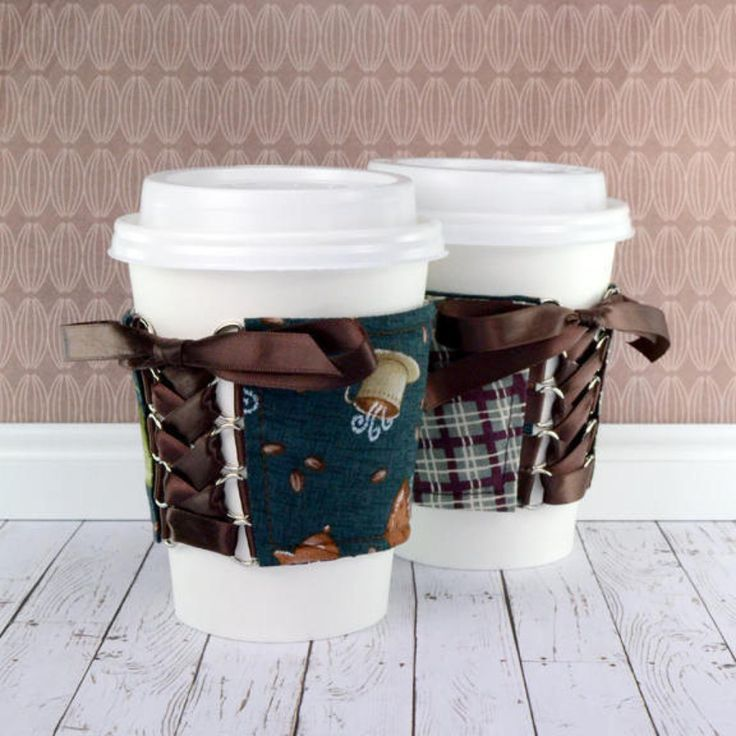 Hot Coffee Cup Cozy #handmade by Chelsey -- http://etsy.me/2Cpi2Y6  #etsy #CozyCorsetCuff #DrinkUp #CoffeeCozies #CoffeeSleeves #ecofriendly #Coffee #ShopLocal #HandmadeInMinnesota #CupCozies #CupSleeves #Minnesota