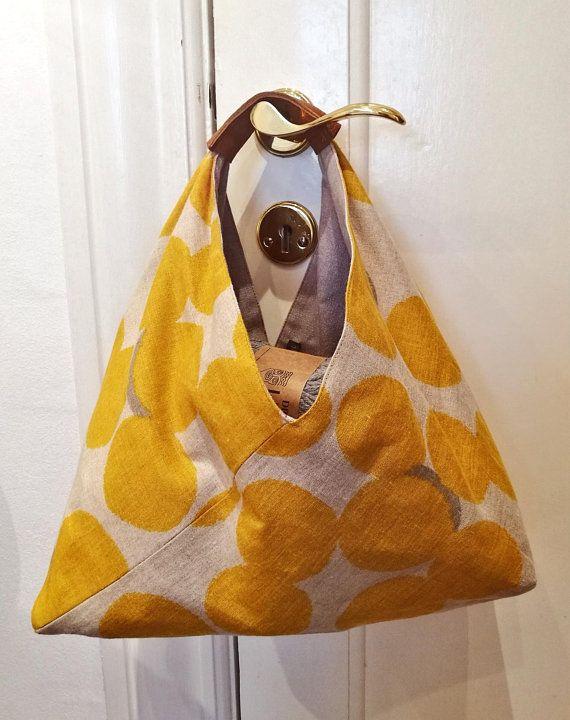 adjustable strap Origami tote market bag cross body over the shoulder