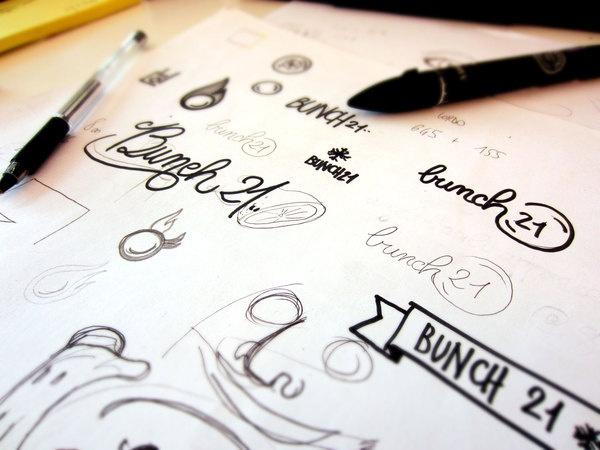 Bunch 21 Brand Identity
