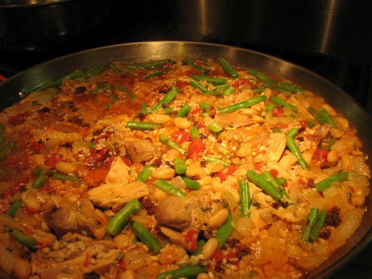 Ricetta originale per preparare la Paella Valenciana - conoscereweb