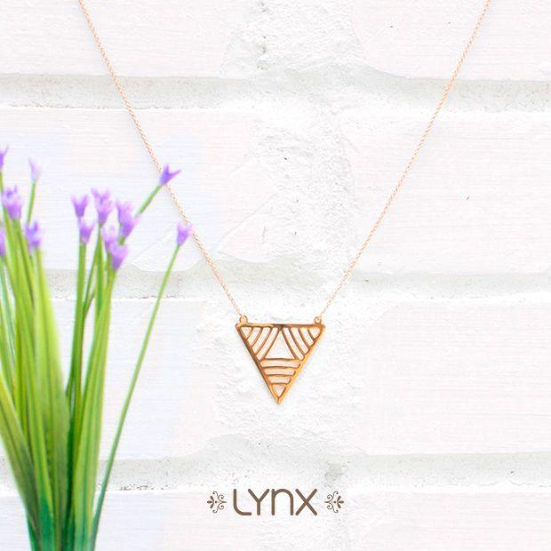 Los diseños geométricos son indispensables para esta temporada✨✨ #Spring #newcollection #springcollection #ILoveLynx #lynxaccesorios #Lynx #necklace