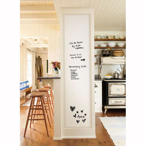 This fabulous dry-erase whiteboard is the perfect size! Stay on track this Spring with this great organizational tool! #springcleaning #organization #wallpops