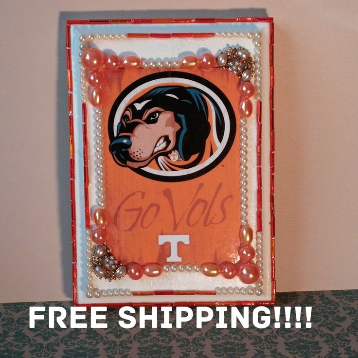 A personal favorite from my Etsy shop https://www.etsy.com/listing/269147713/university-of-tennessee-ut-football