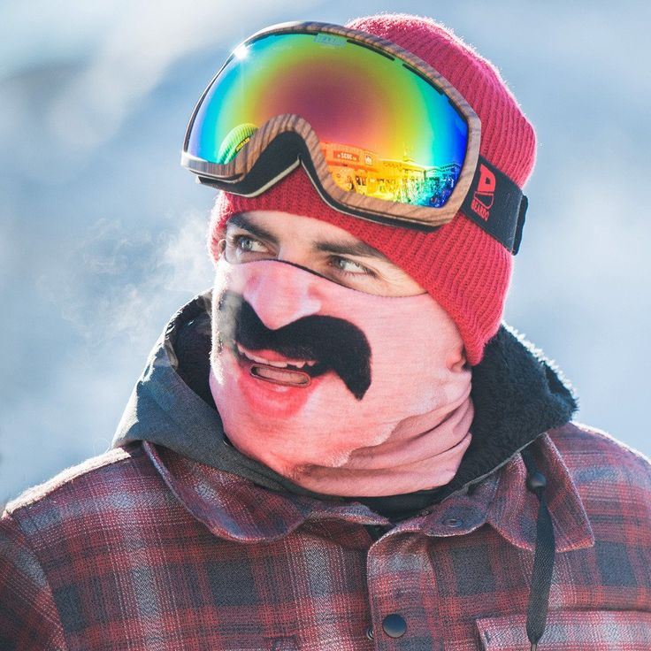 A manly Mexican Mustache, Fresh Air Breathe Hole and made with Antimicrobial treated material. Stay Warm