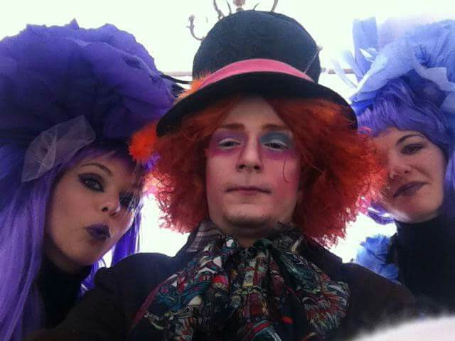 Mad hatter costume halloween carnevale cappellaio matto costume Alice in The wordeland #madhatter