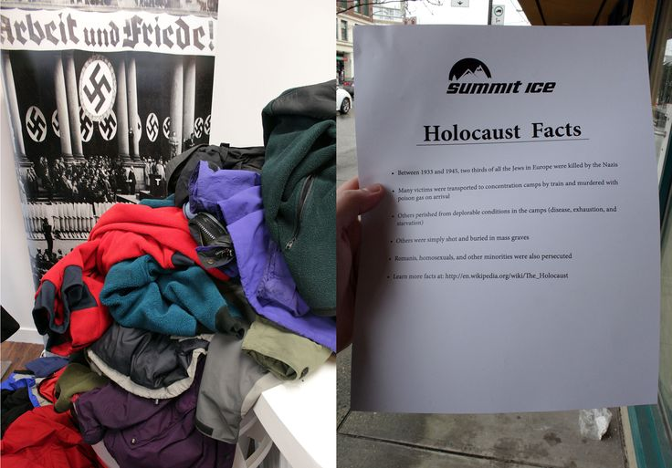 I Went to Nathan Fielder's 'Holocaust Awareness' Outdoor Apparel Sale - Vice