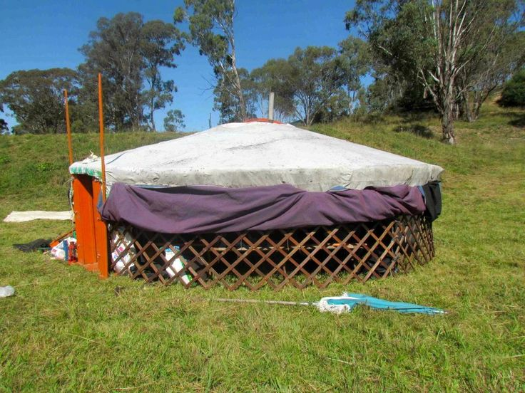 How to make a yurt