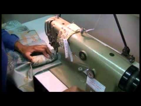 Making goblet pleats