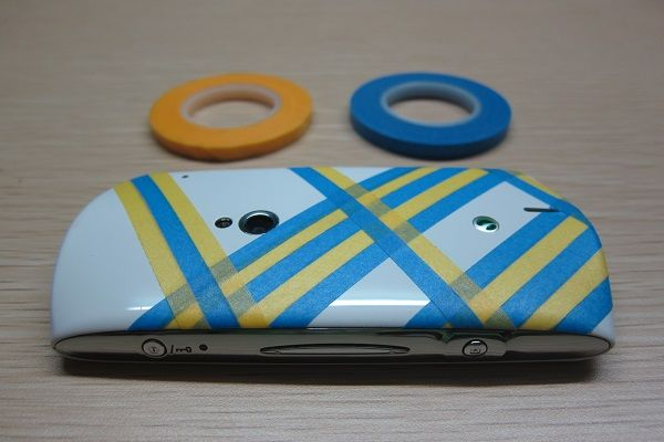 Washi your cellphone case!
