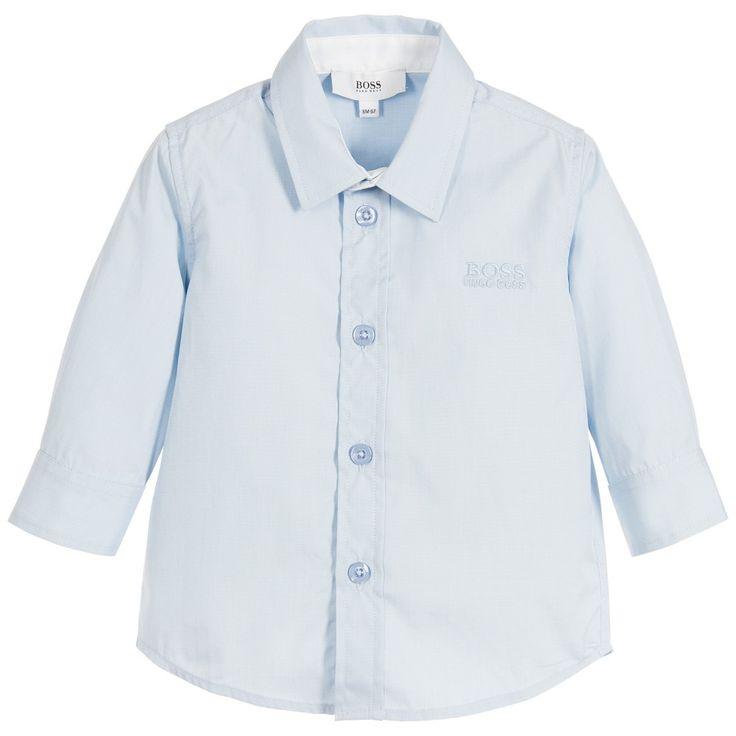 BOSS Baby Boys Pale Blue Shirt