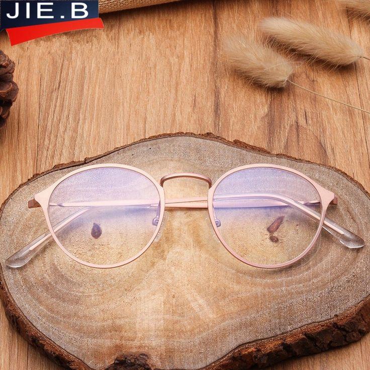 Male student female cadres of metal glass transparent glasses frame glasses lens elegant oval prescription sunglasses frames