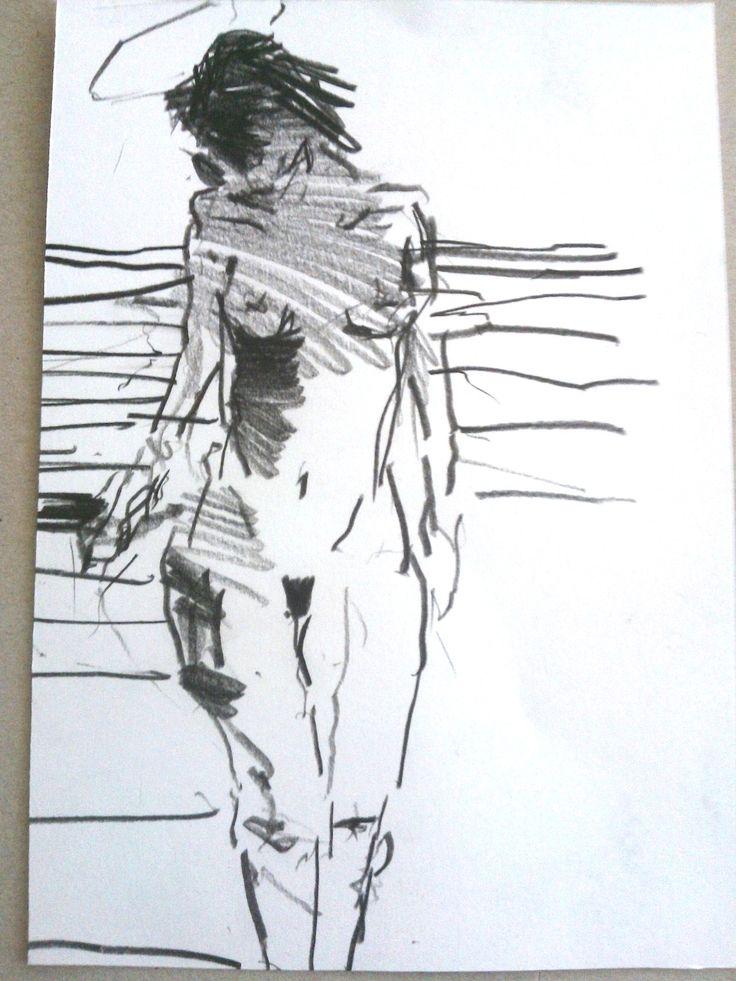 """Lust for life"" Per Adolfsen, Drawing 2013."