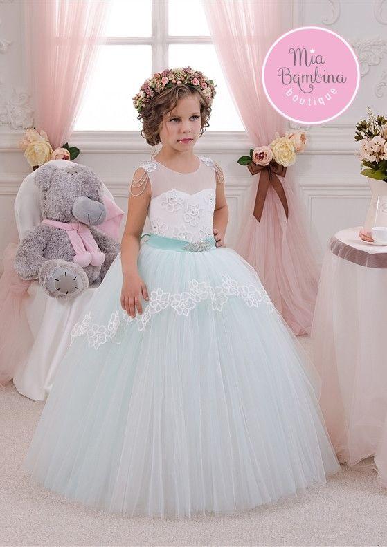 c2cfd39869c Flower Girl Dresses Sweetheart Bodice   Long Tulle Skirt Bridesmaid Dress  for Flower Girl
