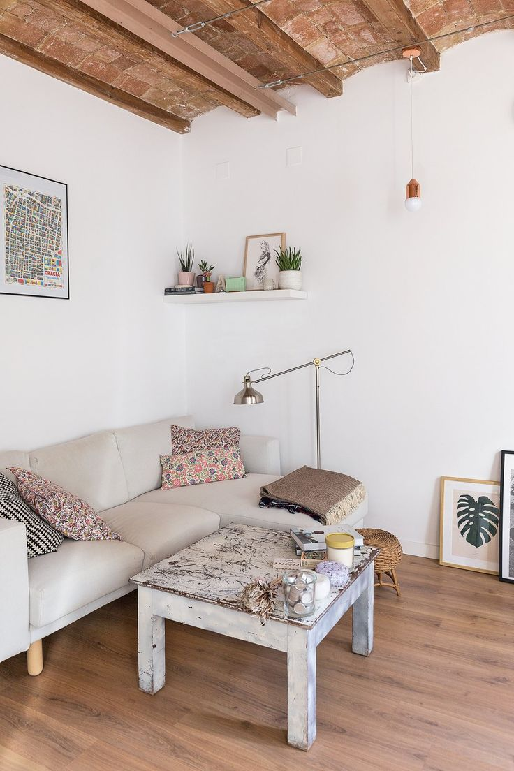 Nod milo glider with ikea ranarp floor lamp transitional nursery - House Tour A Sunny Soulful Renovated Barcelona Apartment Shop Ranarp Floor Reading Lamp