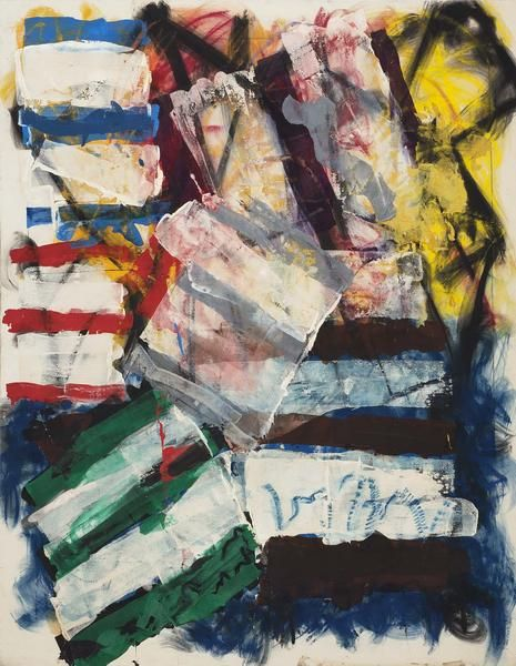 Michael Goldberg   abstract expressionism