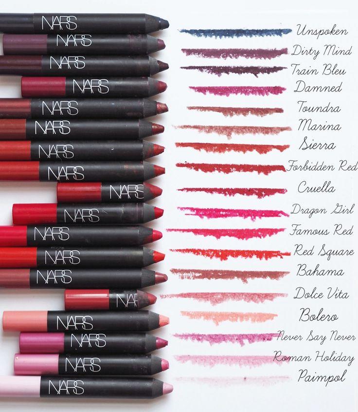 The NARS Velvet Matte Lip pencil Ultimate Guide : Info