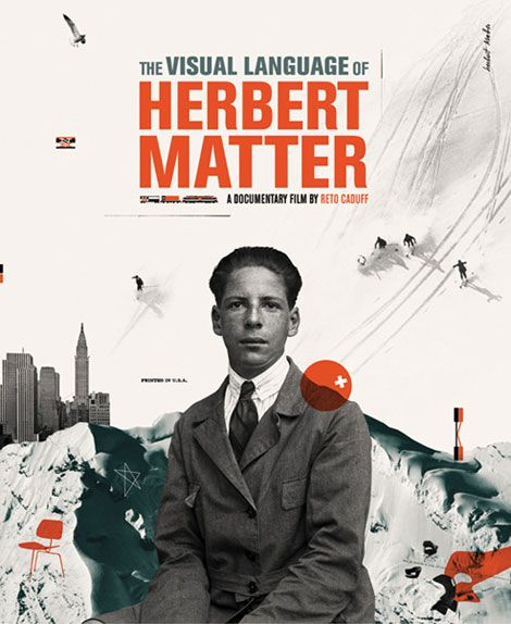 The Visual Language of Herbert Matter (designed by Cristiana Couceiro