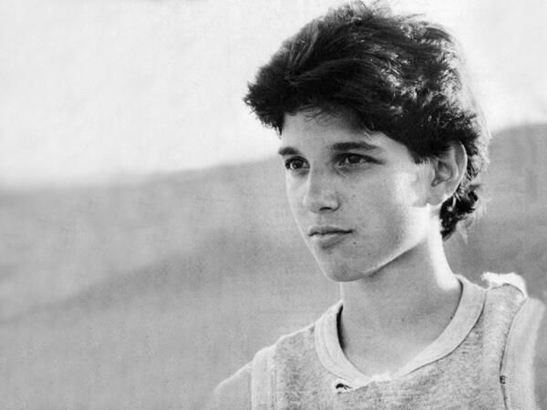 Ralph Macchio... My first crush!!!  Karate Kid was awesome with you in it!