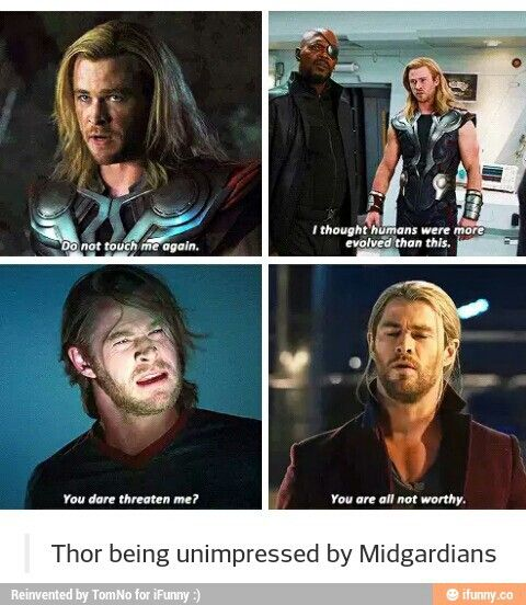 Thor is done with Migardians