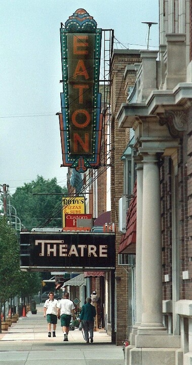 Eaton Theatre Charlotte MI  I remember seeing Rumpelstlskin Play here as a kid with my Grandma Fassett