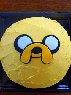 The Flour Bin: Jake the Dog - Adventure Time Cake