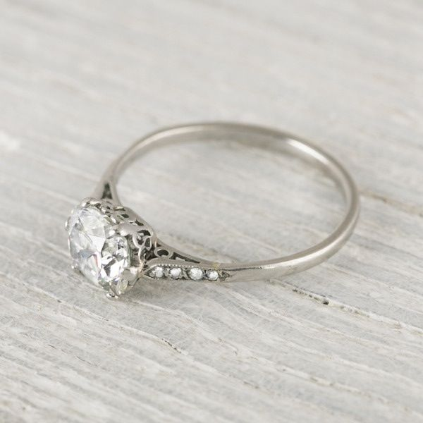 gorgeous engagement ring love how simple yet elegant This is my fav so far