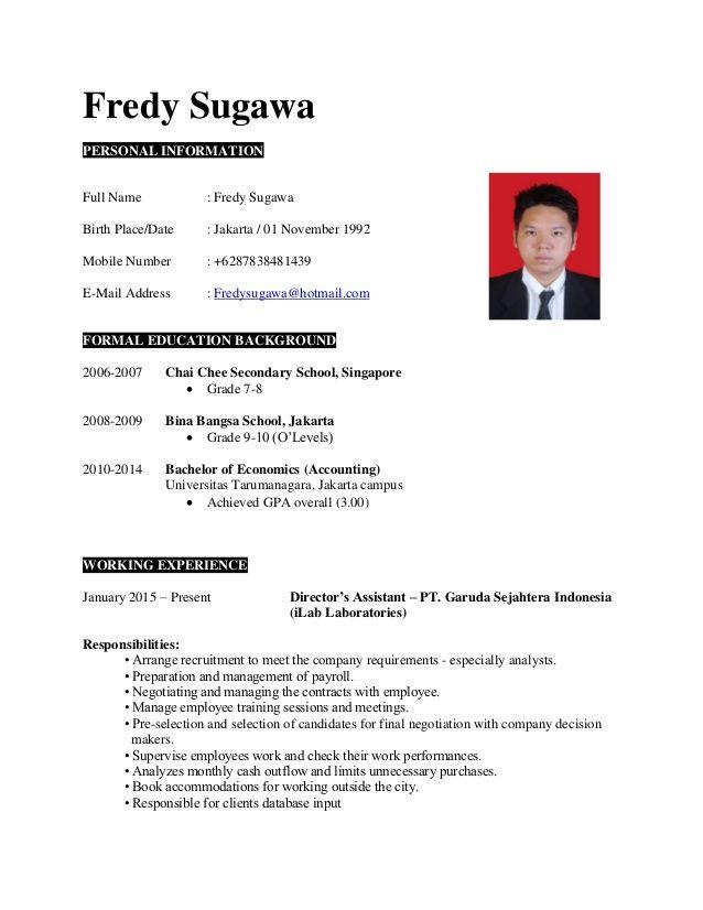 Resume Templates Jobstreet 4 Templates Example Templates Example Resume Templates Resume Resume Template Free