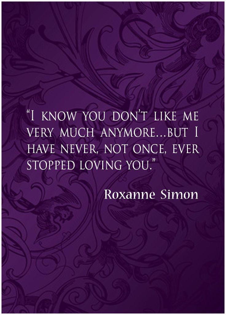 Roxanne's declaration to Frank