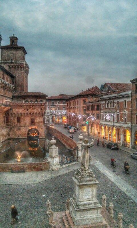 Ferrara centrostorico natalizio