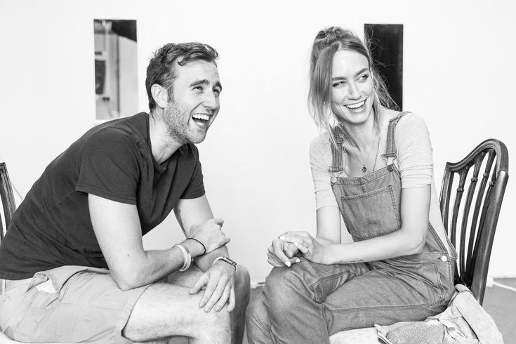 """Unfaithful's Niamh Cusack & Matthew Lewis: """"I really like smelling the audience!"""""""