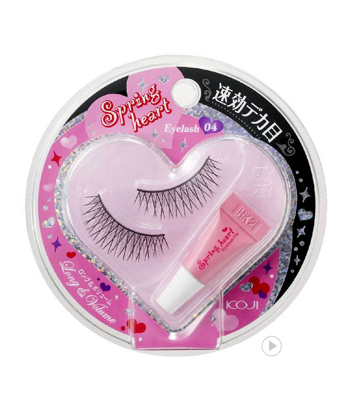 Spring Heart Eyelash 04 Long