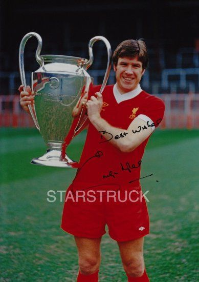 Liverpool FC 1977 European Cup Winners Emlyn Hughes signed (Pre-Printed) Exclusive A4 Print