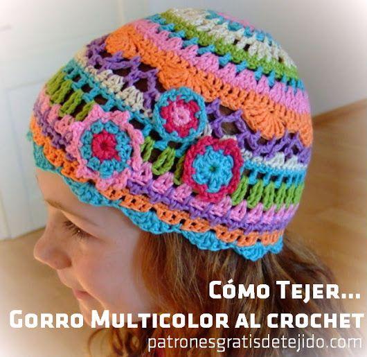 1471 best Gorros,gorritos images on Pinterest | Capuchas, Patrones ...