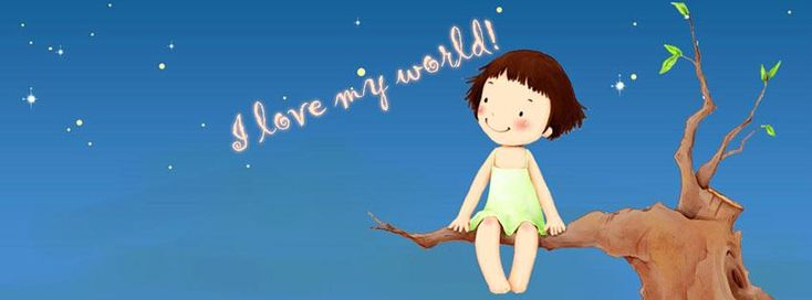 I love my World facebook cover - FB Covers Hub