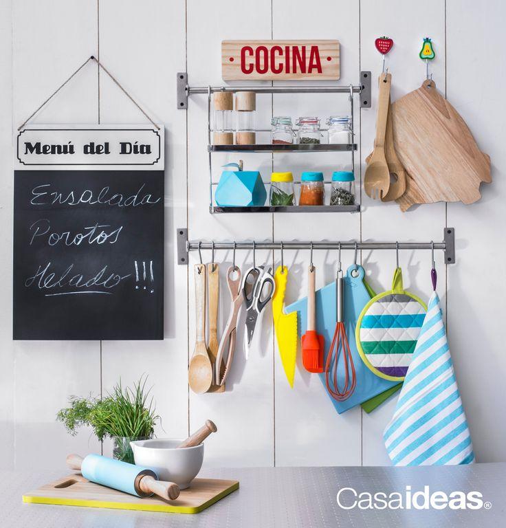 Todo lo que necesitas para tu cocina lo podrás encontrar en #Casaideas… #Cocina #Decoración #Hogar Primavera - Verano 2015