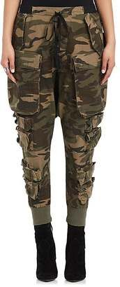 Shop Now - >  https://api.shopstyle.com/action/apiVisitRetailer?id=624991724&pid=uid6996-25233114-59 Ben Taverniti Unravel Project Women's Camouflage Cotton-Blend Cargo Pants  ...