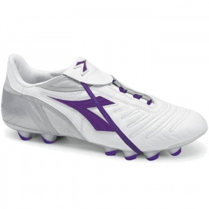 SALE - Diadora Maracana Soccer Cleats Mens White Leather - Was $97.99 - SAVE $23.00. BUY Now - ONLY $74.99