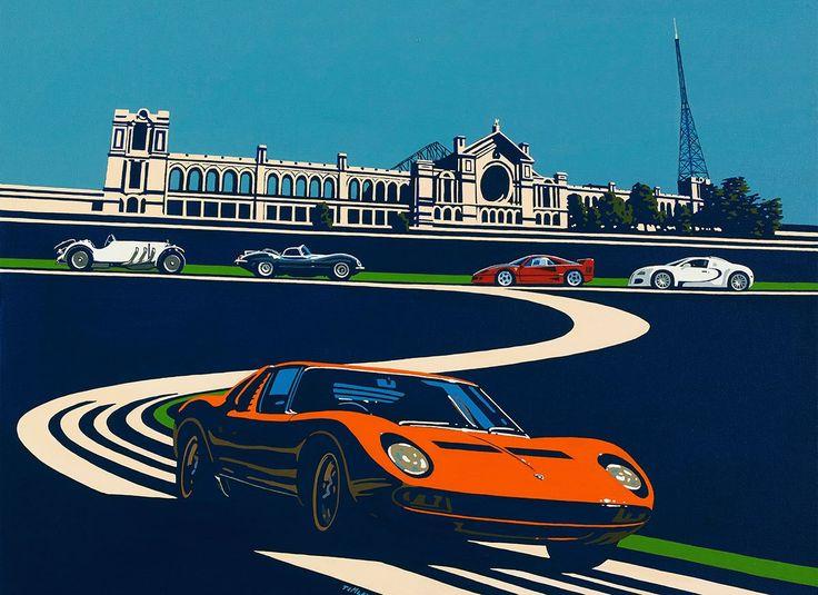 Best Art Images On Pinterest Automotive Art Car And Poster