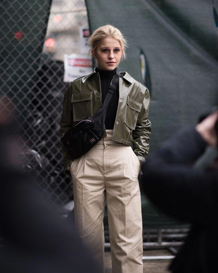 Live From New York, It's Fashion Week Street Style!+#refinery29 #newyorkfashion