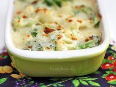 Gratinado de Brócolis e Couve-flor ~ PANELATERAPIA - Blog de Culinária, Gastronomia e Receitas