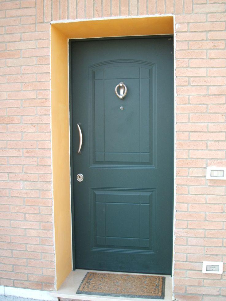 Porta blindata esterna porte blindate pinterest porte - Porta esterna in alluminio ...