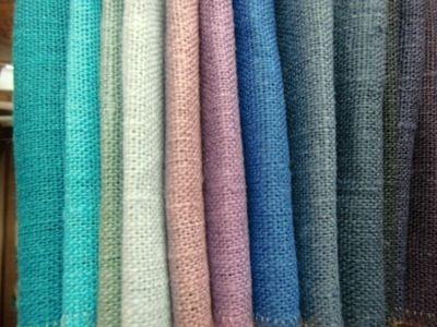 Tvättat och krympt! Du kan sätta igång genast att sy dina gardiner eller kläder själv.