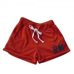 Orange Sporty Shorts