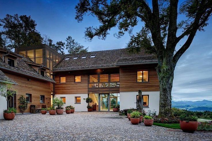 แบบบ้านสองชั้น แห่งความสุข พร้อมธรรมชาติสุดโรแมนติก