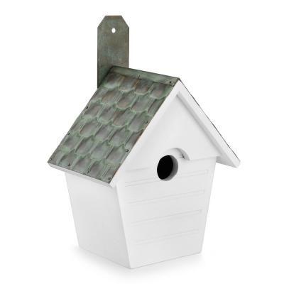 Best Good Directions Classic Cottage Bird House Verdigris Pure 640 x 480