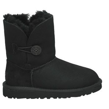 Ugg Black Bambini Bailey Button Stivali 5991