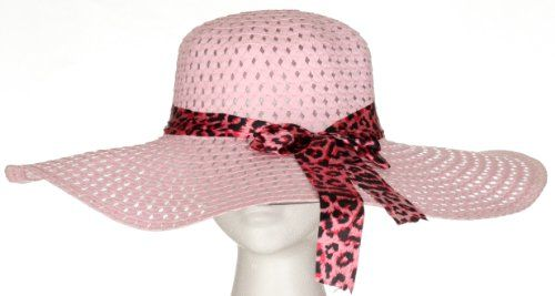 Large Sized Floppy Sun Hat with Bow Tie, Variety Colors