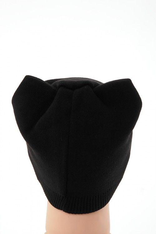 Шапка В0261 Цвет: черный Цена: 270 руб.  http://optom24.ru/shapka-v0261/  #одежда #женщинам #шапки #оптом24
