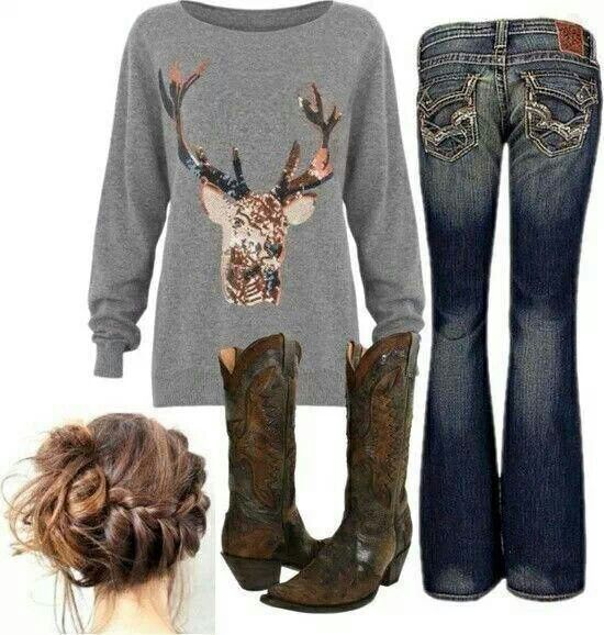 Winter | Country life | Country girls outfits, Cute ...